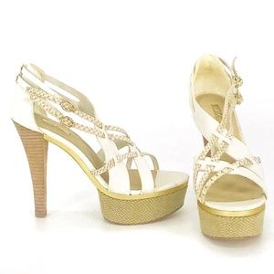 Wild Pair Platform Heels Size 6
